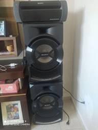 rádio sony shake x3d