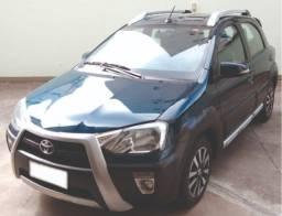 Toyota Etios Hatch Cross Automático - Única Dona