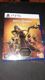 Jogo Ps5 Mortal kombat 11 ultimate novo e lacrado