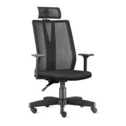 Título do anúncio: Cadeira Presidente  Addit Tela Giratória  Cor Preta  Frisokar   32999
