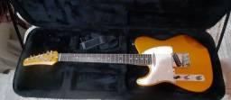 Guitarra canhoto Seizi Telecaster + Pedaleira + Case