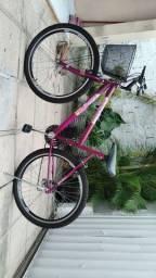 Bicicleta nova, aro 26,com nota fiscal.