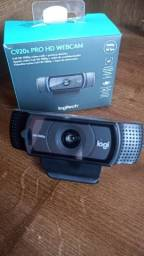 Título do anúncio: Webcam Logitech C920s Pro Full Hd 1080p +