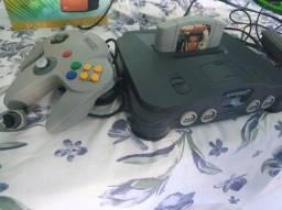 Nintendo 64 + 007 Goldeneye 007 + 1 Controle