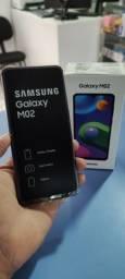 Samsung Galaxy M02 32GB novo brinde cartão 32GB
