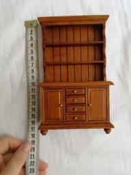 Mini estante cozinha madeira casa pronta delprado