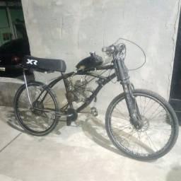 Bike Motorizada freio a disco pneus maciços acessórios novos revisão recente