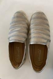 Título do anúncio: Sapato com brilho TAM 37