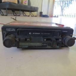 radio toca fitas Sharp para carros antigos fusca opala chevette corcel