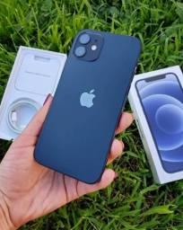 iPhone 12 Preto 128gb NOVO/LACRADO