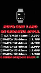 Apple Watch lacrado com 1 ano de garantia Apple