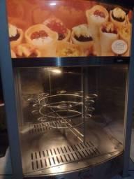 Pizza cone estufa giratória