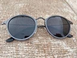Óculos de Sol espelhado grafite