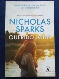 """Título do anúncio: Livro """"Querido John"""" - Nicholas Sparks"""