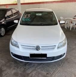 VW Gol G5 1.0 Completo 2013 Branco