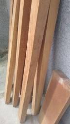 8 peças de madeira mista de 1,5 todas pareadas