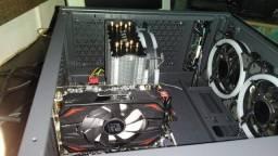 Computador Gamer rx 550 4gb red dragon