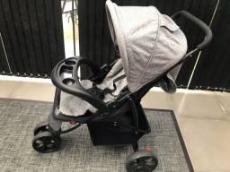 Carrinho de Bebê 3 Rodas Baby Style Urban Cinza