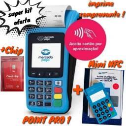 Título do anúncio: Máquina de Cartão PRO1 que imprime com internet grátis / chip e bobinas grátis  !