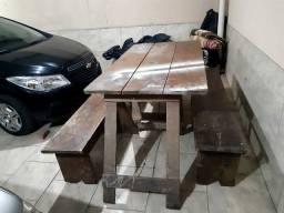 Mesa churrasco ou ambiental $ 200