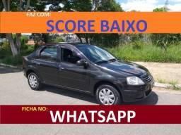 Título do anúncio: Financiamento com score baixo Renault Logan Flex
