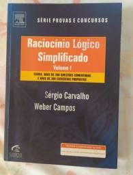 Livro Raciocínio Lógico Simplificado Vol. 1
