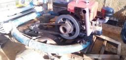 Bomba de irrigação com motor estacionário