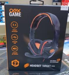 Headset Target 7.1 Canais Usb 2 Anos De Garantia