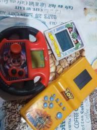 Mini games e cartucho
