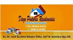 DIEGO PINTURAS RESIDÊNCIAS