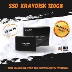 Título do anúncio: SSD 120GB Notebook/computador Original - XrayDisk (novo/lacrado)
