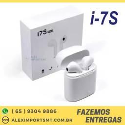 Fone Ouvido I7 Tws Bluetooth iPhone