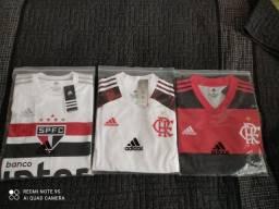 Título do anúncio: Camisa Flamengo e São Paulo