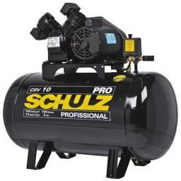 Compressor de Ar CSV10/100 c/motor mono 2P 60hz 2cv/220v pro - 921.7741-0 - Schulz