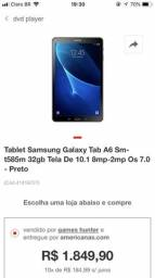 Tablet A6 com S pen