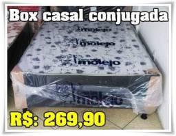 Oferta de Fãbrica Cama Box casal com Brinde Grátis