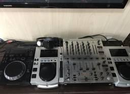 CDJ Pioneers + DJX venda ou troca