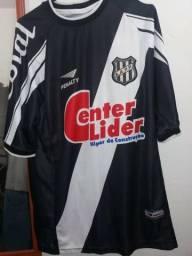 Camisa De Jogador Ponte Preta Penalty Preta Tamanho G N° 16 b50b77b430eea