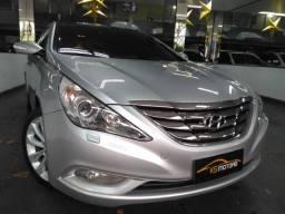 Hyundai Sonata Top de Linha Automático Multimídia Teto Solar Ipva 19 Pago Muito Novo 2013 - 2013