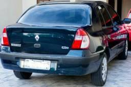 Renault Clio Sedan 2006 1.6 Flex K4M 110 CV Completo Ar Direção Trio Top Recém revisad - 2006