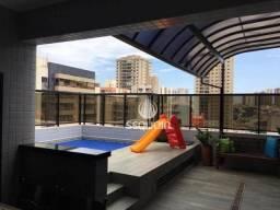 Cobertura com 4 dormitórios à venda, 252 m² por r$ 1.090.000,00 - jardim são luiz - ribeir