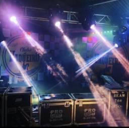Vendo iluminação completa para banda ou casa de show
