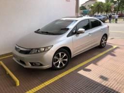 Honda Civic EXS versão top de linha com Teto Solar - 2012