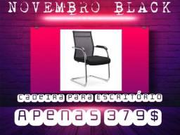 Cadeira de tela para escritório