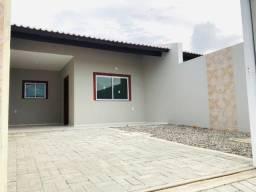 D.P Casa nova com 2 quartos,2 banheiros,garagem em rua privativa pertinho de messejana