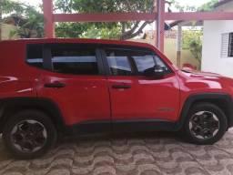 Jeep /renegade sport MT categoria partic de cor vermelha quitado,(15848) km - 2016