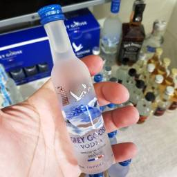 Miniatura Vodka Grey Goose Francesa 50ml - Original e Lacrada