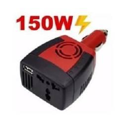 Inversor Conversor Transformador 150w 12v P/ 110v Tomada USB Veicular (NOVO) comprar usado  Salvador
