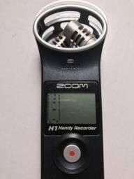 Gravador ZOOM H1 2 canais comprar usado  Brasilia