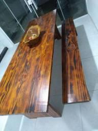 Mesa de madeira 2,50/0,88